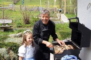50plus Hotels Ortnerhof Grillen Genuss Country Barbecue Reiten Nationalpark Hohe Tauern